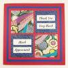 Thank You Card - Much Appreciated - Square (TY 024)